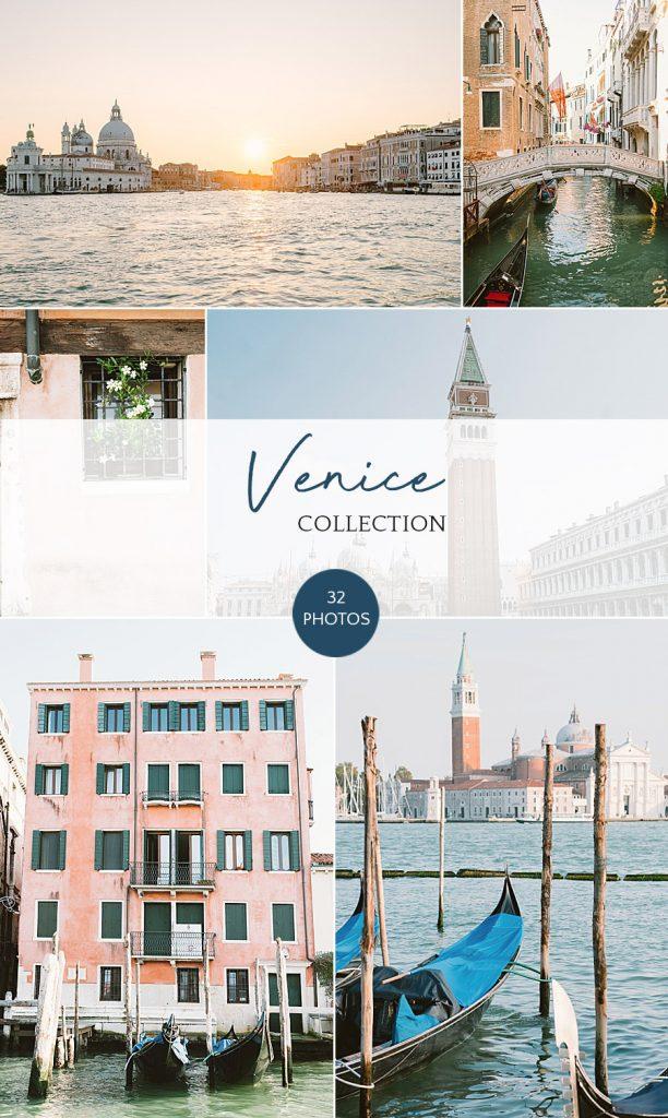 Venice, Italy stock photography bundle