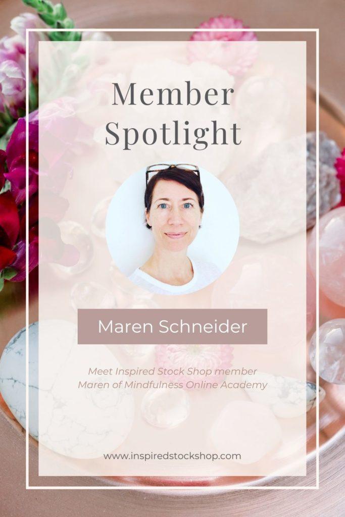 ISS Member of the Month Maren Schneider